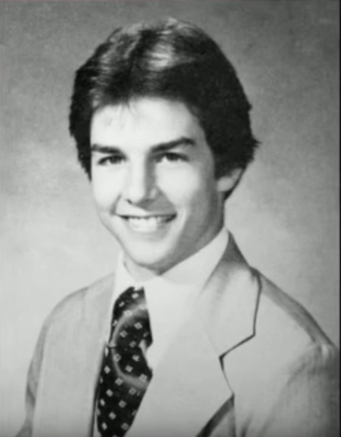 Tom Cruise School Picture