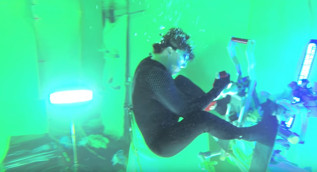 Tom Cruise Mission Impossible Underwater