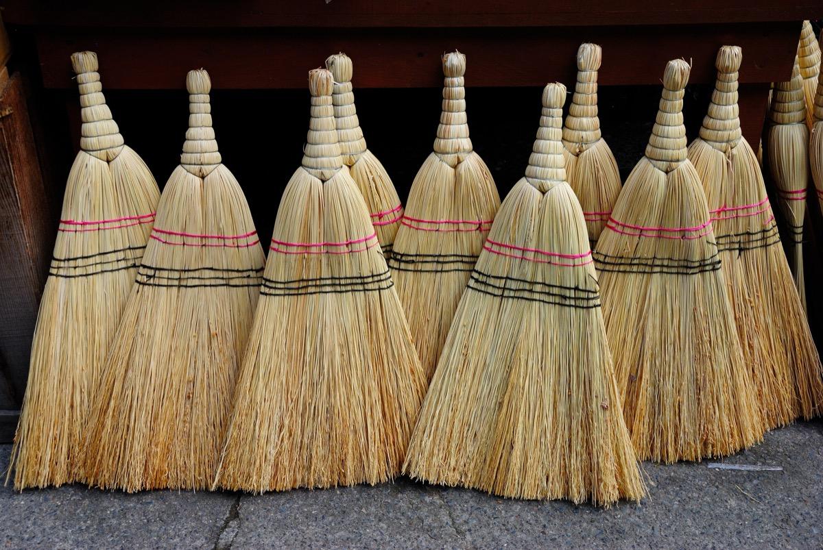 traditional turkish brooms
