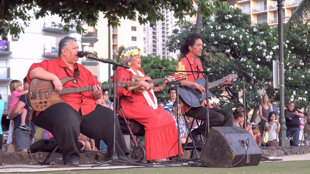 a ukelele festival in waikiki hawaii
