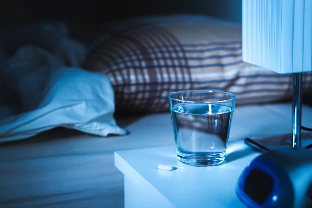 taking sleeping pill