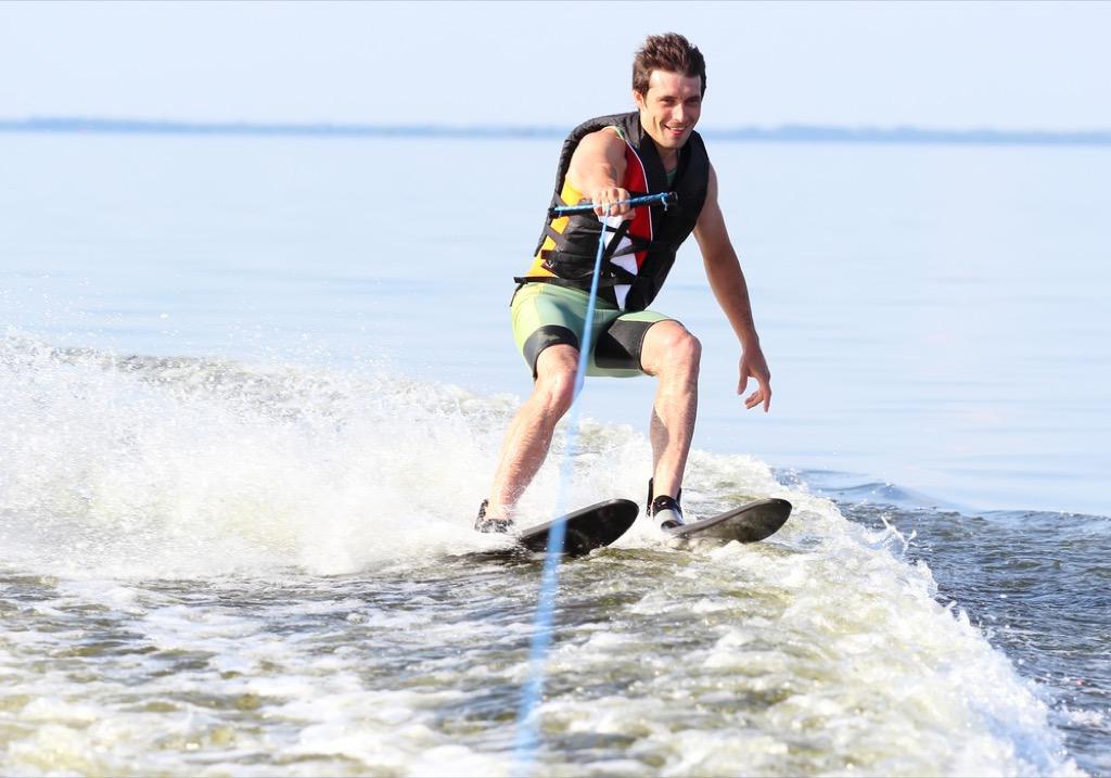 man on waterski