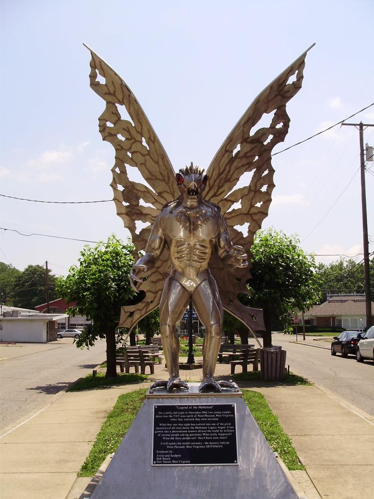 west virginia mothman weirdest urban legends every state