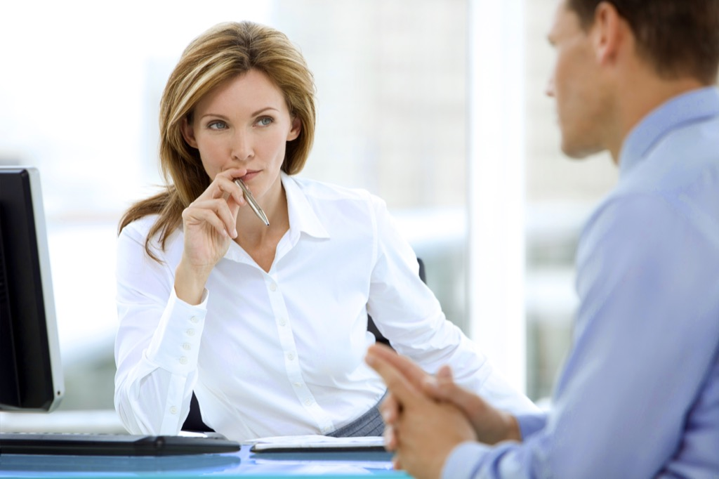 woman boss executive {stereotypes}