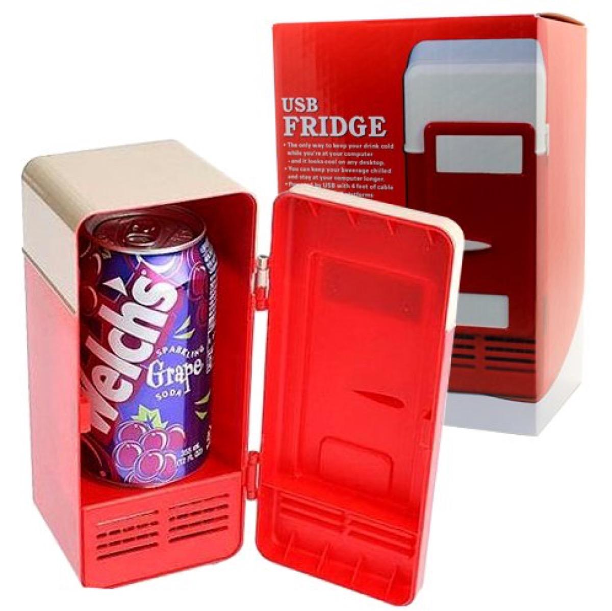 desktop fridge