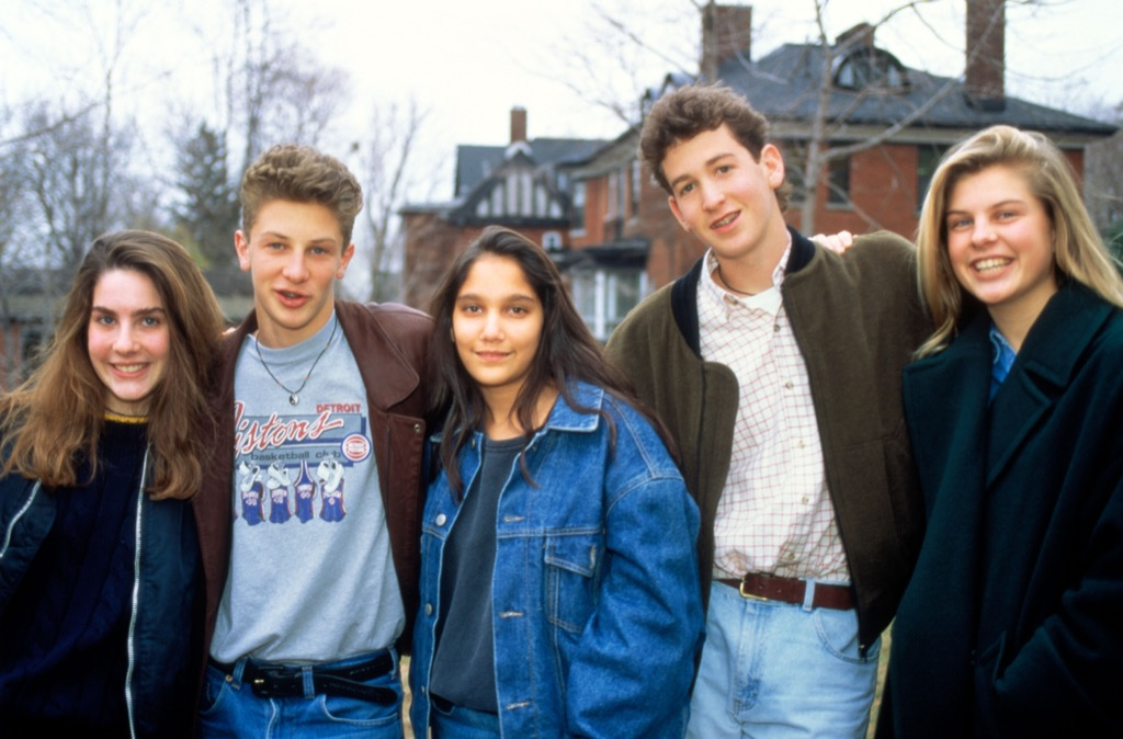 teens in the 1990s