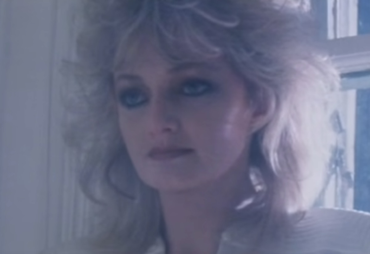 Bonnie Tyler in Total Eclipse of the heart music video, 1980s jokes
