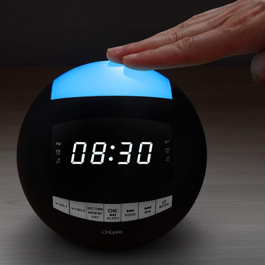 Amazon dorm room alarm clock