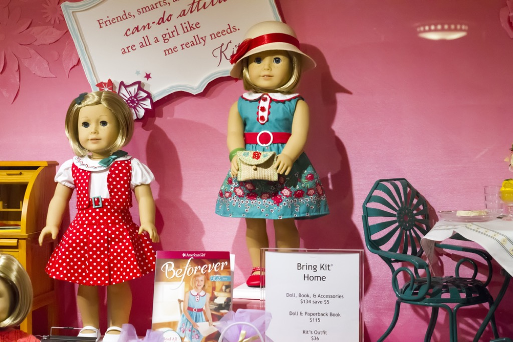 american girl doll valuable items in your attic
