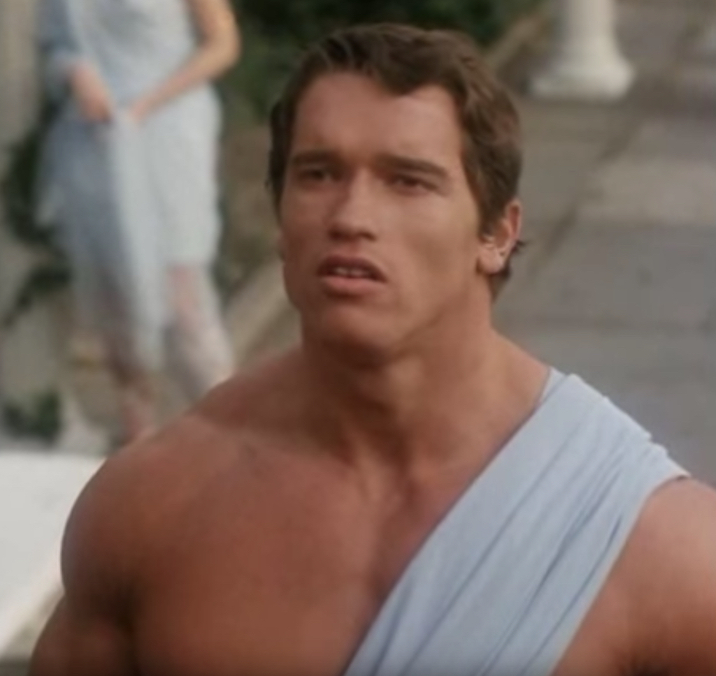 Arnold Schwarzenegger Hercules in New York