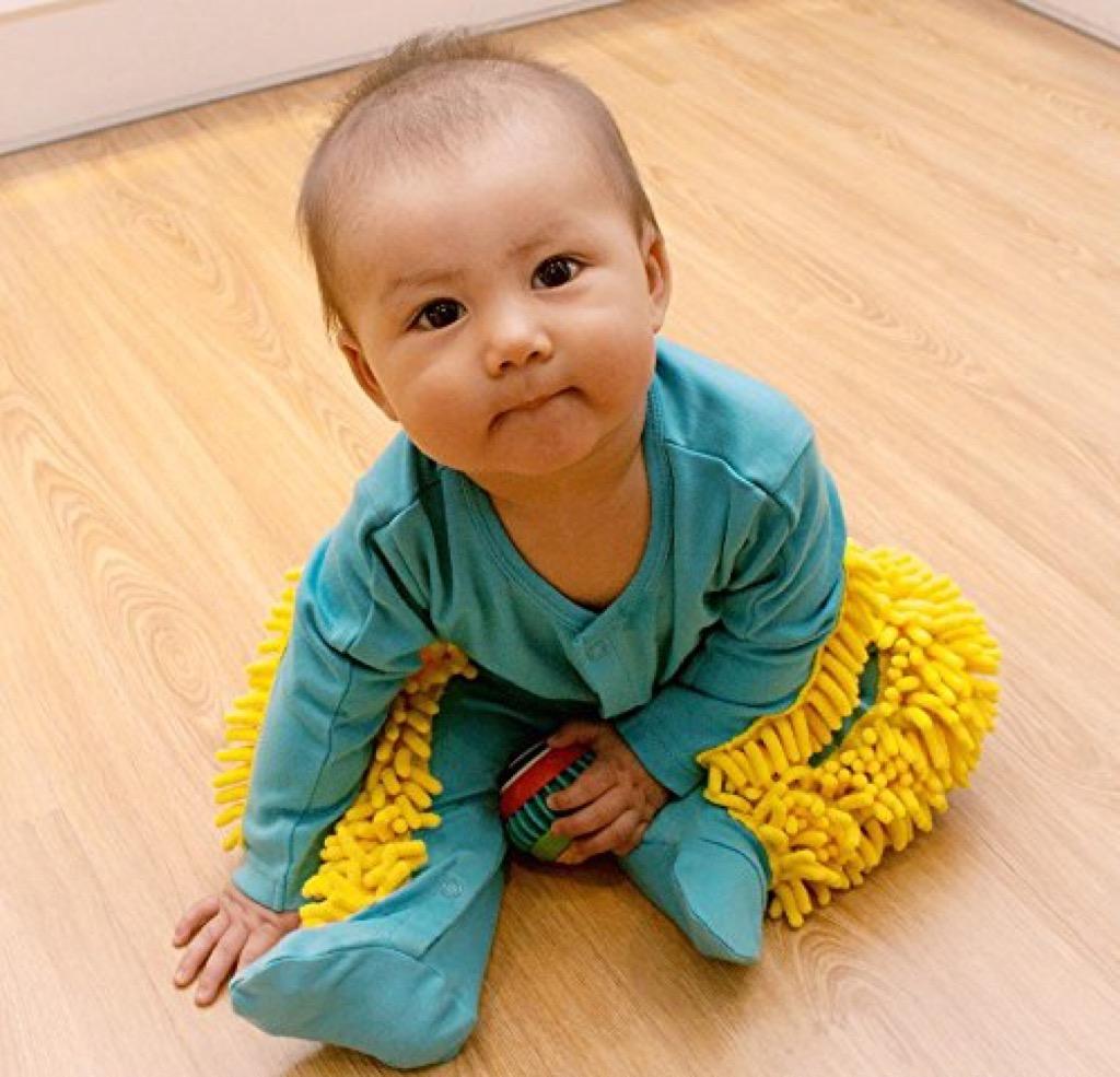 baby mop onesie craziest Amazon products