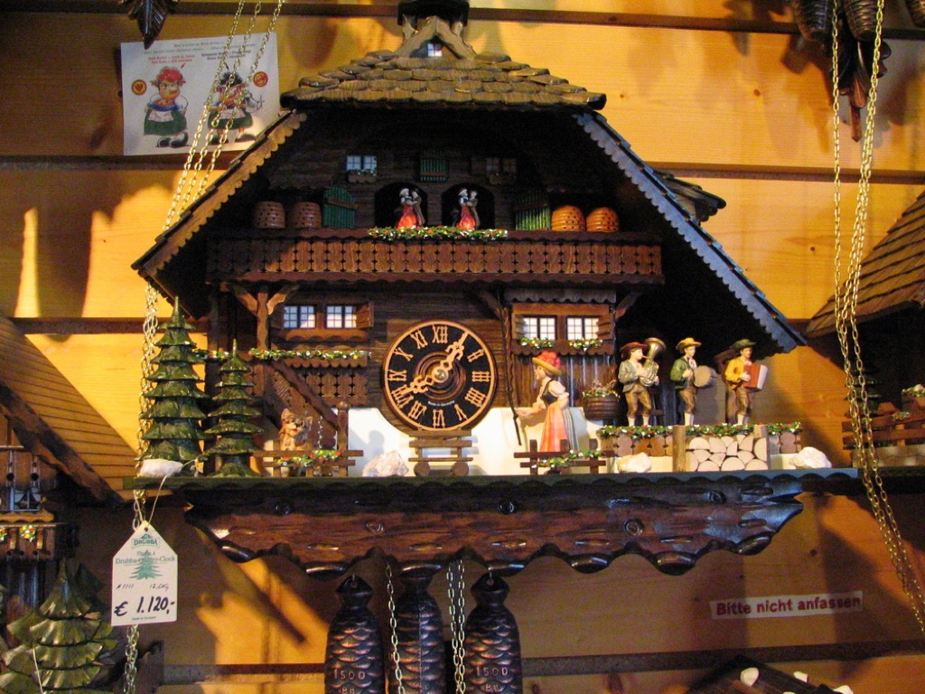 cuckoo clock valuable items in your attic