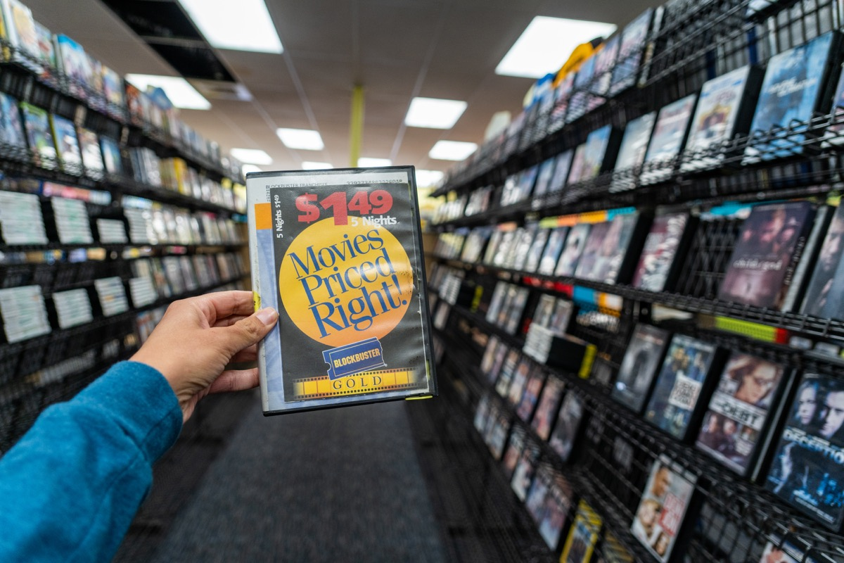 blockbuster tape vhs, 20th century nostalgia