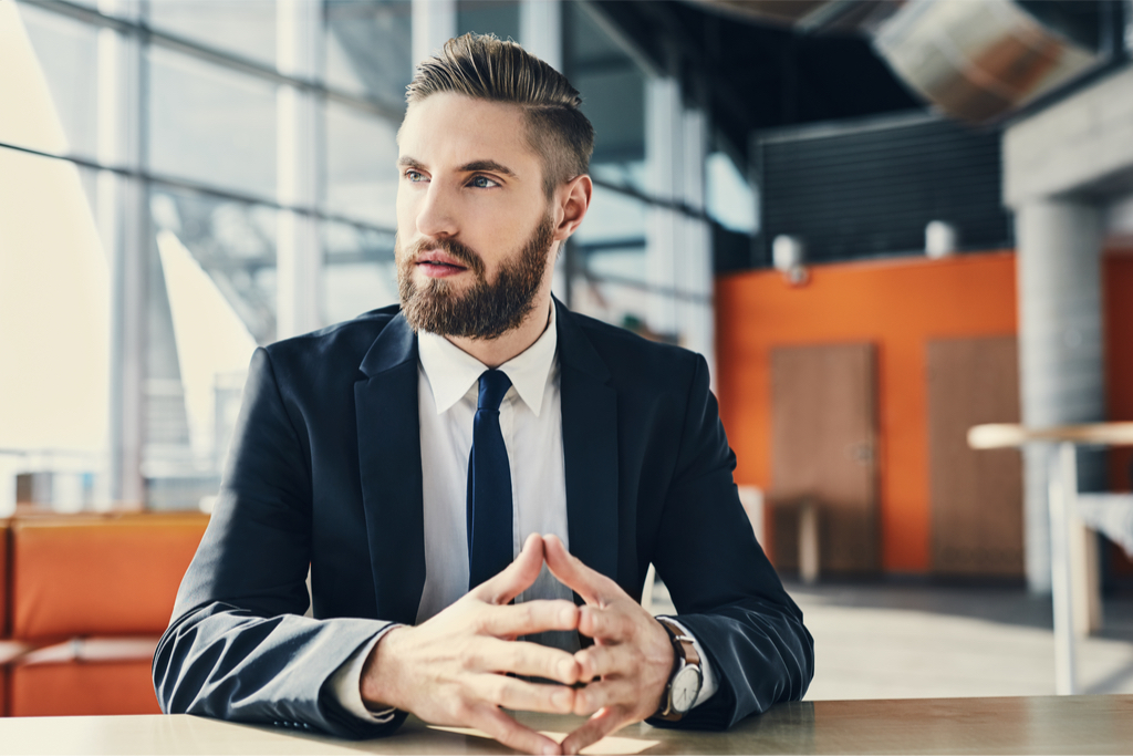 Businessman Looking Away Things Your Body Says About You