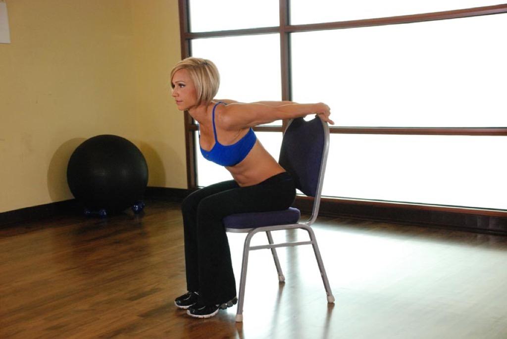 chair stretch