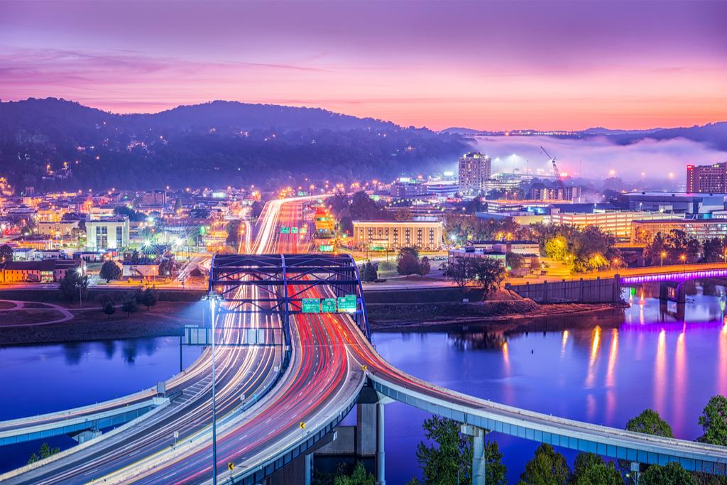 Charleston West Virginia American Cities Vacation Destinations