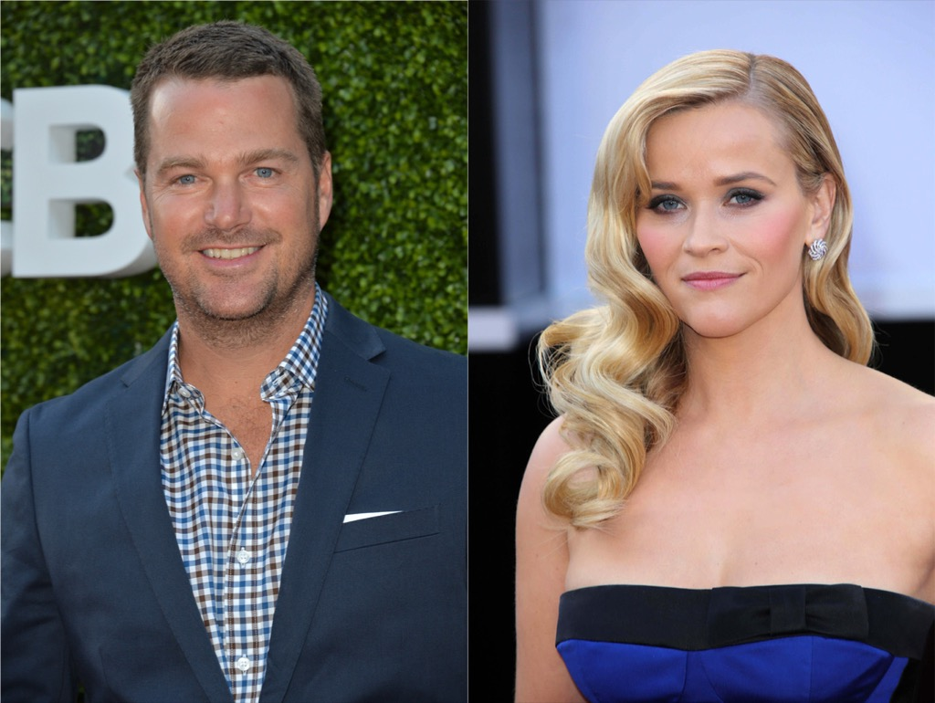 Chris O'Donnell and Reese Witherspoon