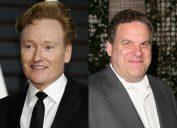 Conan O'Brien and Jeff Garlin