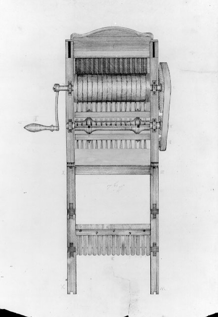 eli whitney cotton gin most groundbreaking invention in every state