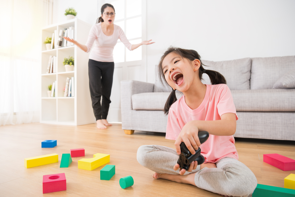 Daughter Making Mess Things No Parent Wants to Hear