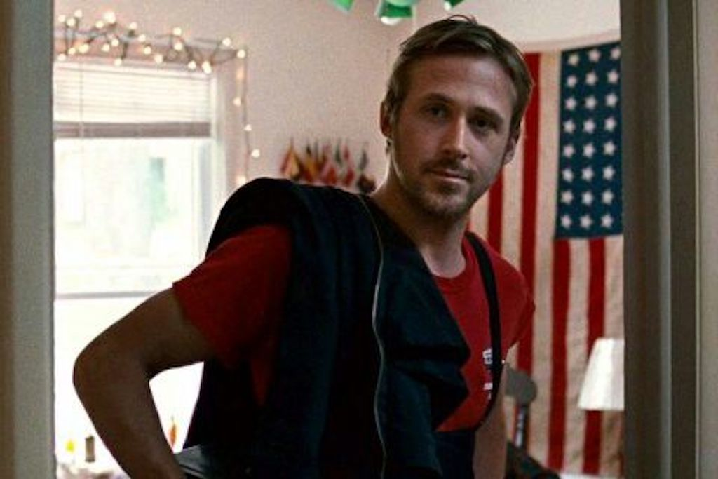 ryan gosling waits outside for wife, romantic gestures