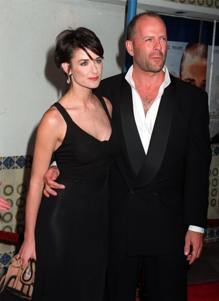 Demi Moore Bruce Willis It Couples From the 90s
