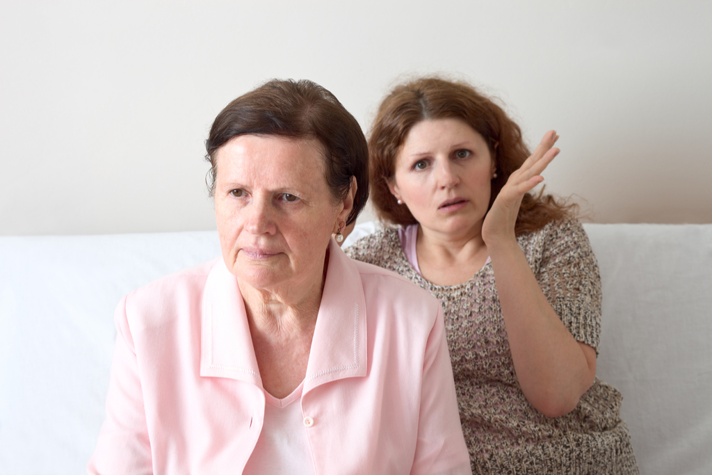 Elderly Mother and Daughter Things No Parent Wants to Hear