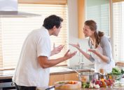 couple arguing, things you should never say to your spouse