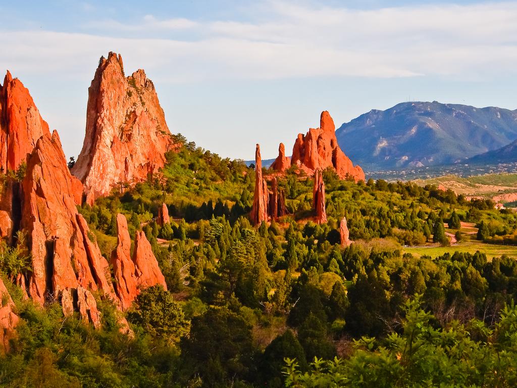 Garden of the Gods Colorado natural wonders in america