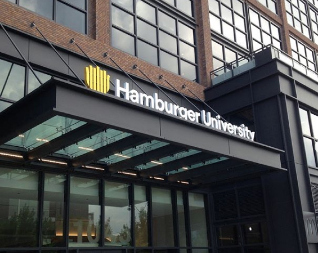 hamburger university 30 Things That Are Harder Than Getting into Harvard