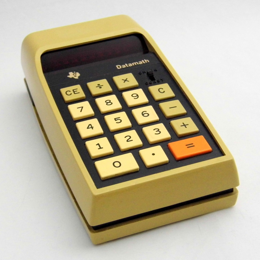 vintage handheld calculator most groundbreaking invention in every state