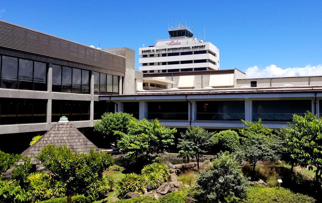 cultural garden inside honolulu airport