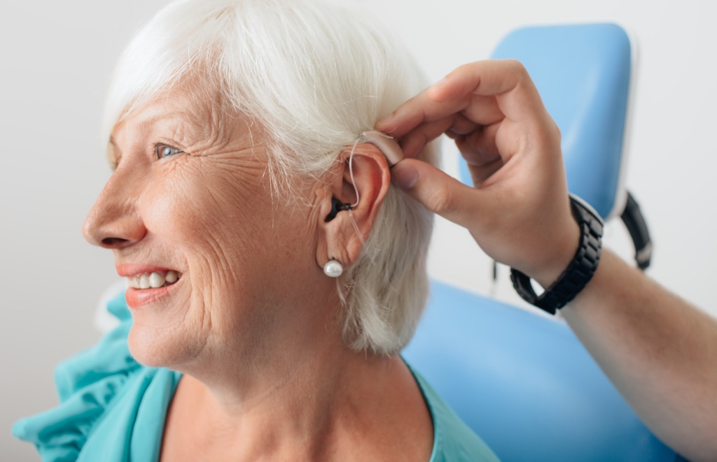 woman with hearing aid most groundbreaking invention in every state