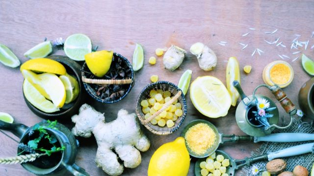 home remedies lemon and ginger
