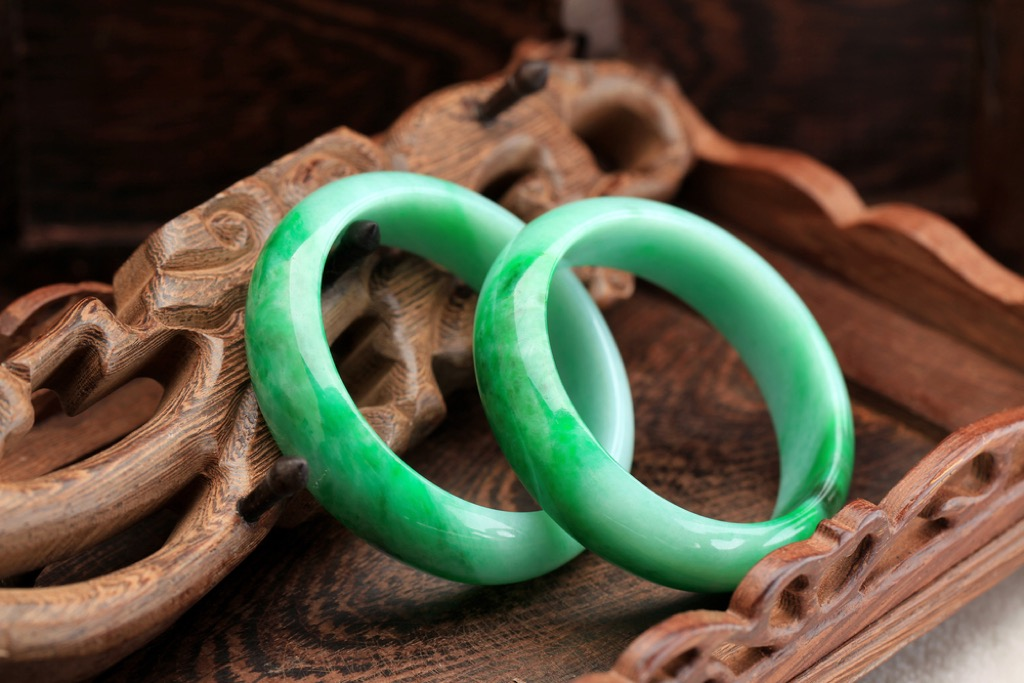 jade bracelets valuable items in your attic