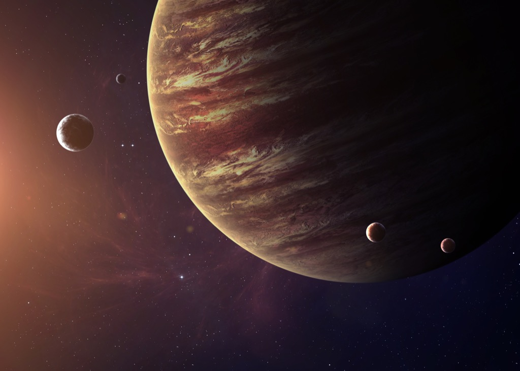 Jupiter space planet