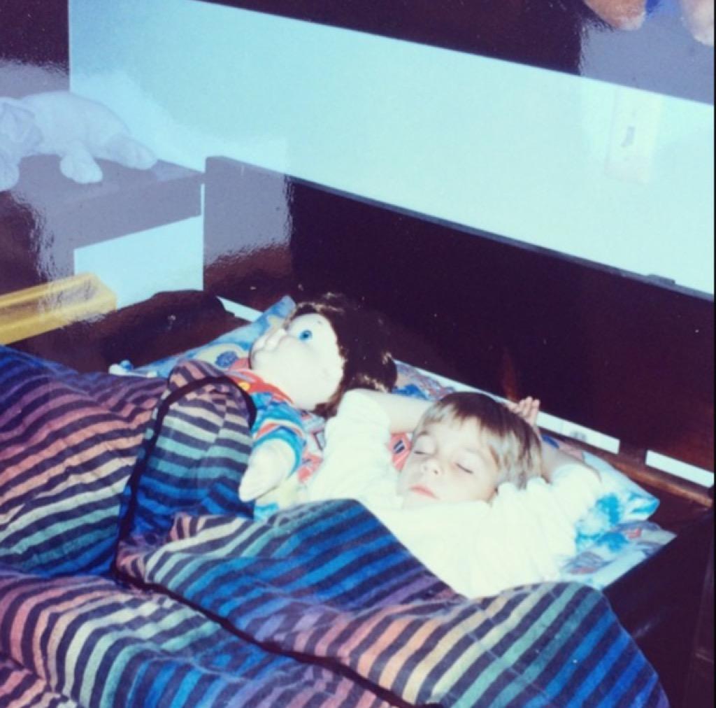 kid in a waterbed worst interior design trends