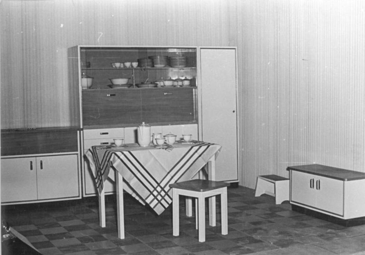 kitchen in 1950s