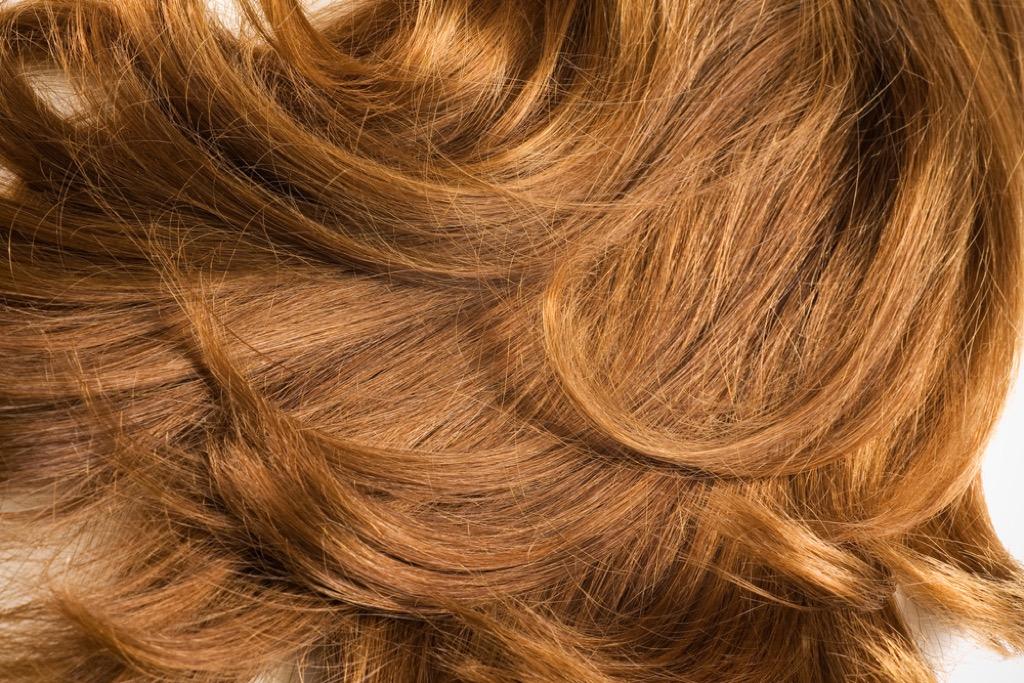 layered hair cut on red hair