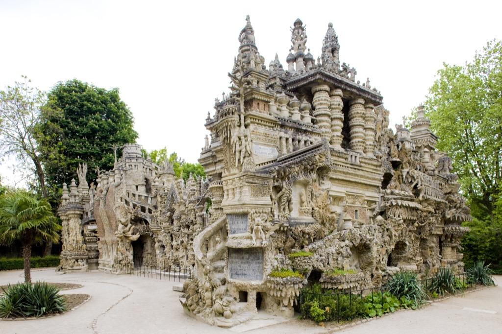 Le Palais Ideal castle France