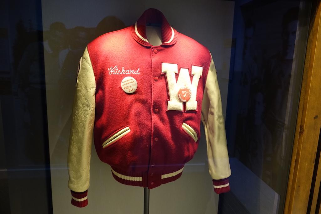 Letterman jacket Nixon