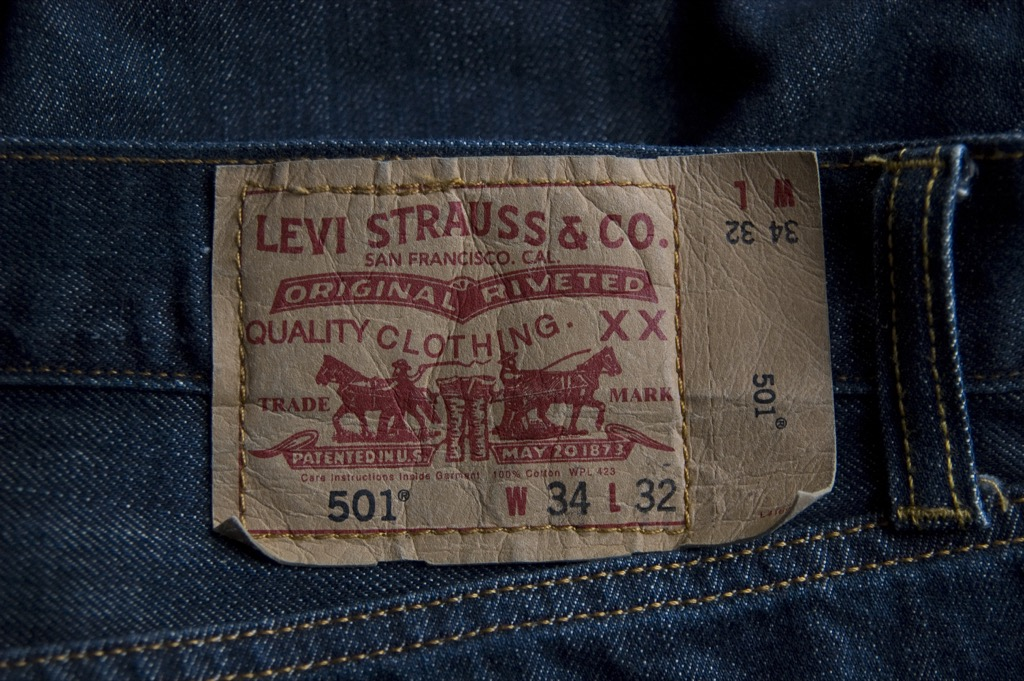 levi strauss blue jeans most groundbreaking invention in every state