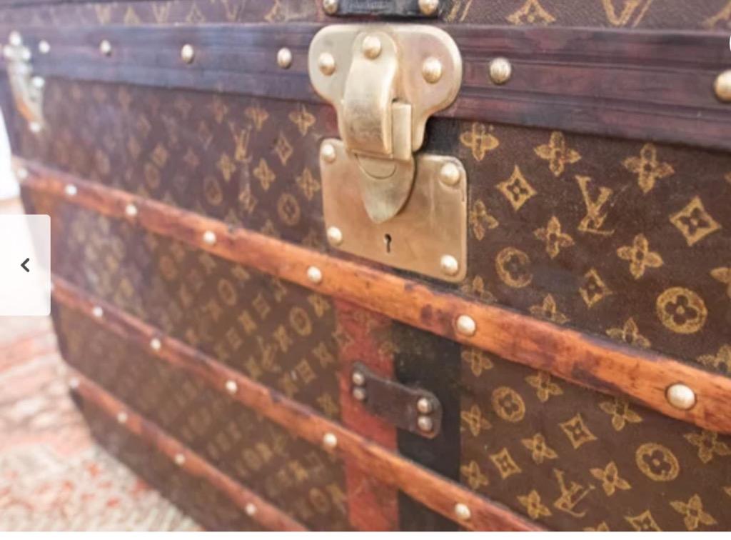 designer trunk valuable items in your attic