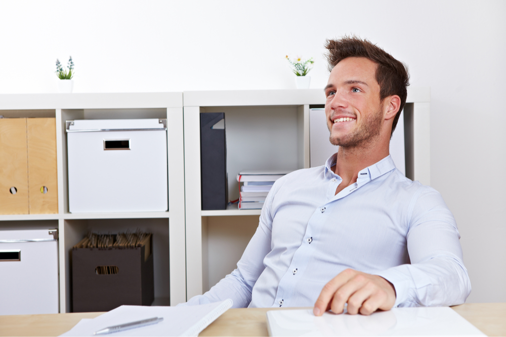 Man Leaning Back in chair Body Language That Kills First Impressions