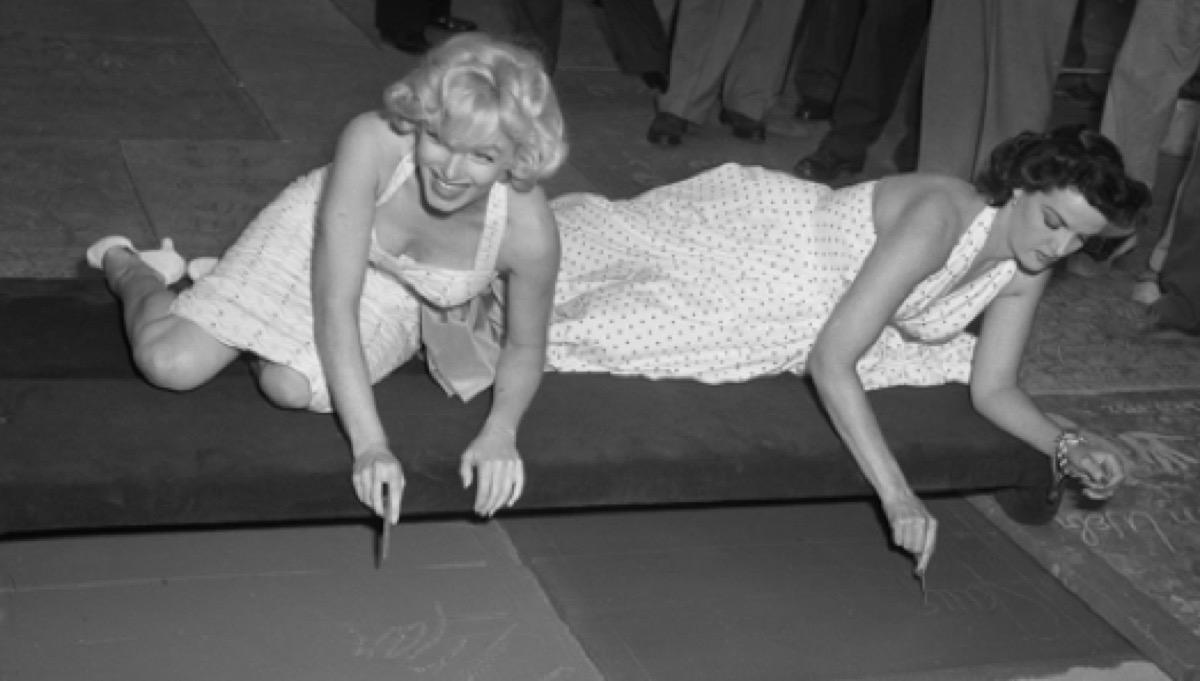 marilyn monroe, 1950s glamour photos