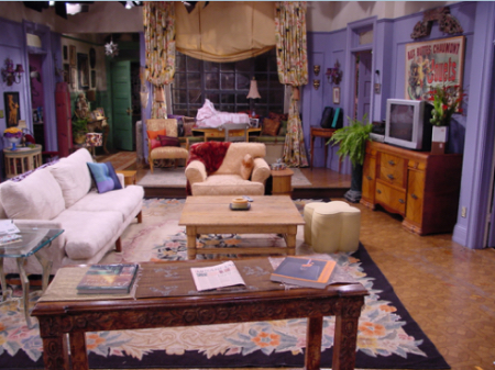 Monica Gellar Friends Apartment Worst Home Decorating Trends