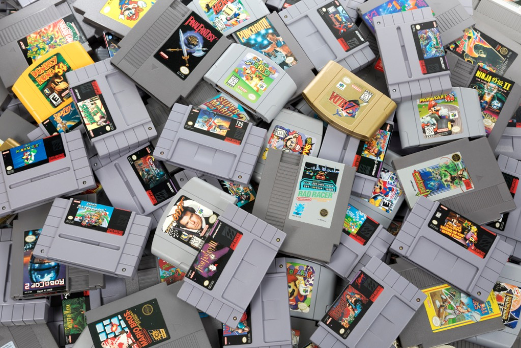 vintage video games valuable items in your attic