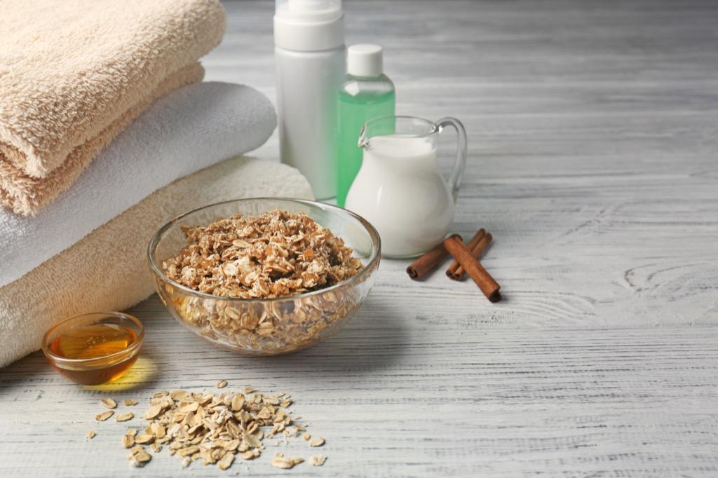 oatmeal bath products