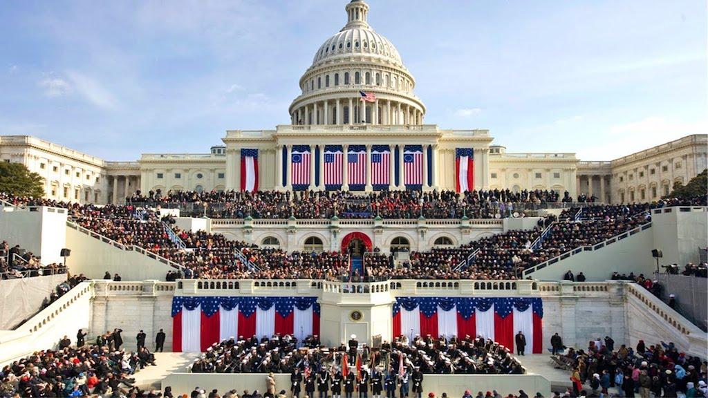 Obama Presidential Inauguration Legos