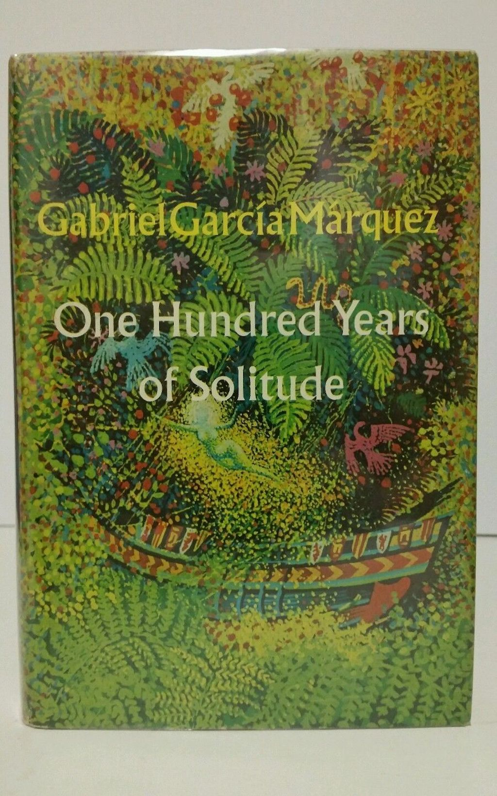 one hundred years of solitude first edition book